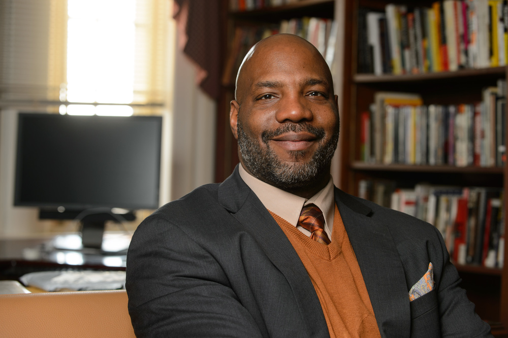 William Jelani Cobb, an associate professor of history and director of the Africana Studies Institute, has accepted a position at with the School of Journalism at Columbia University. (Courtesy/ Africana Studies Institute )