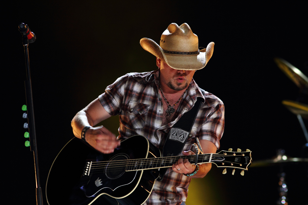 Jason Aldean performs at the CMA Fest in June 2012. Aldean will be performing on April 29 and 30 at Mohegan Sun in Uncasville, Connecticut. (Larry Darling/Creative Commons)