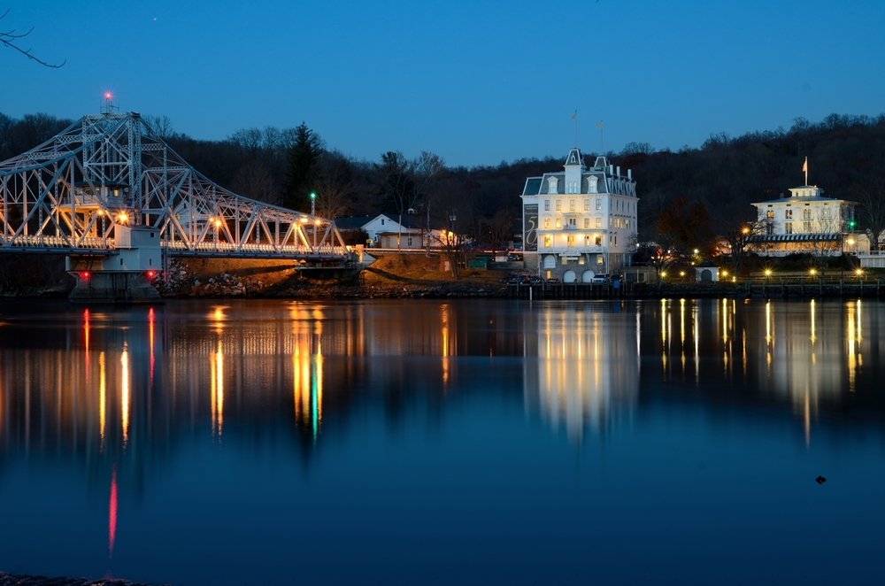 Haddam, Connecticut, one of 14 towns whose water systems serve at least 2,000 people that exceeded federal lead and copper limits, according to the state Department of Public Health. (Patrick Franzis/Creative Commons)