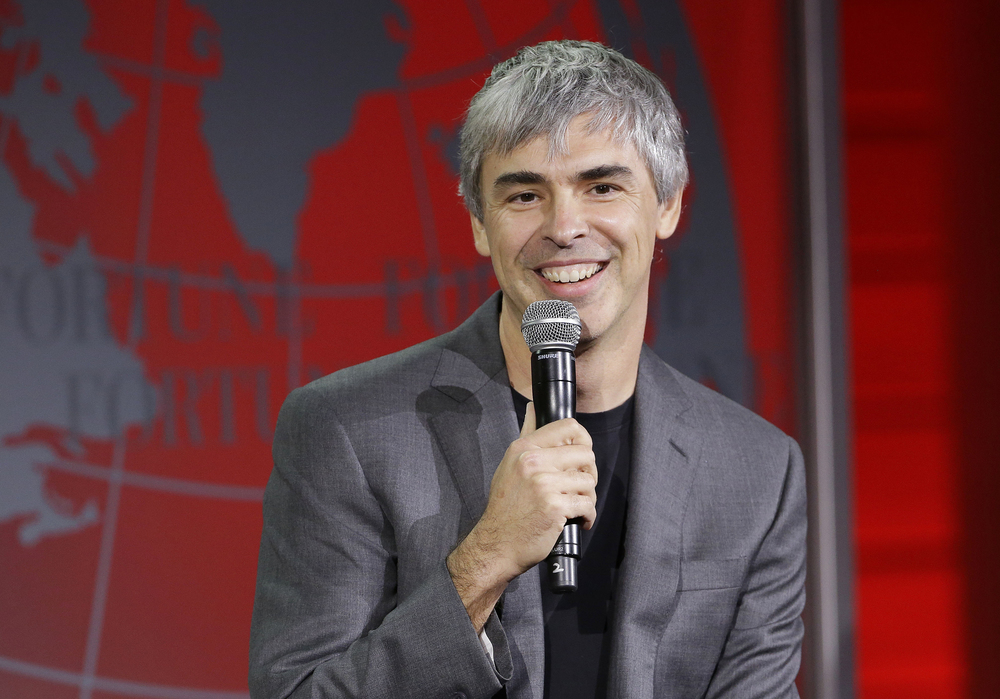 In this Nov. 2, 2015, file photo, Alphabet CEO Larry Page speaks at the Fortune Global Forum in San Francisco. Some of Alphabet's gains evaporated late Thursday, April 21, 2016, after the company announced first-quarter earnings and revenue that fell below analyst projections. (AP Photo/Jeff Chiu, File)