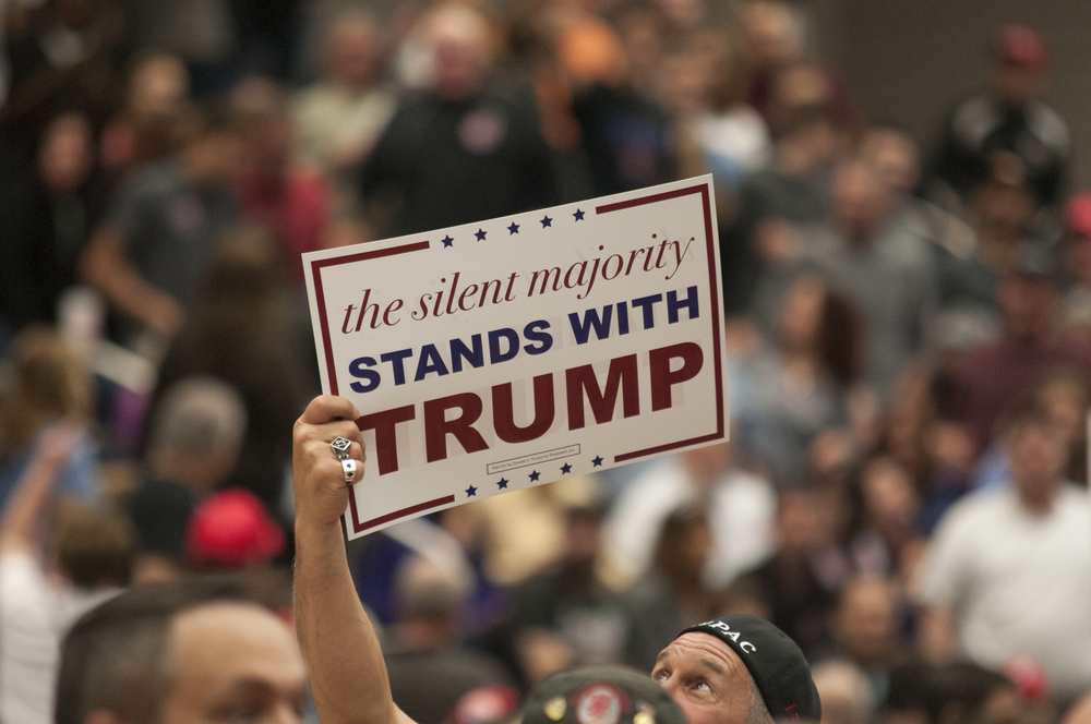 Donald Trump holds rallies in Waterbury, Bridgeport