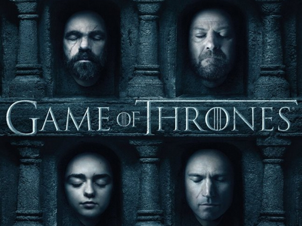 A promotional poster for the Season 6 premiere of Game of Thrones, which aired at 9 p.m. on Sunday night. (Image courtesy of businessinsider.com)