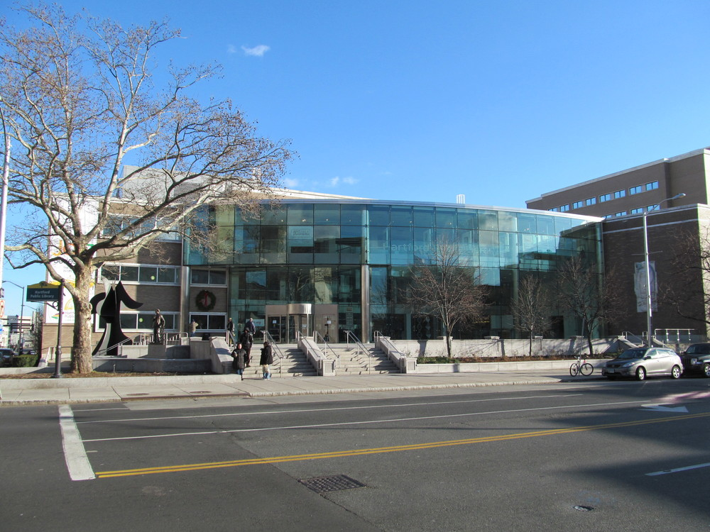 The Hartford Public Library signed a multi-million dollar agreement with UConn to renovate space and create an area within the library for the university. (Courtesy/Wikimedia Commons)
