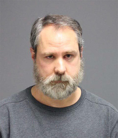 Michael Olzinski, a 46-year-old former UConn pharmacist with Student Health Services, was arrested on Wednesday, April 20, 2016 for fraudulently filling in prescriptions and providing controlled substances to friends and family, according to a police affidavit. (Courtesy/UConn Police Department)