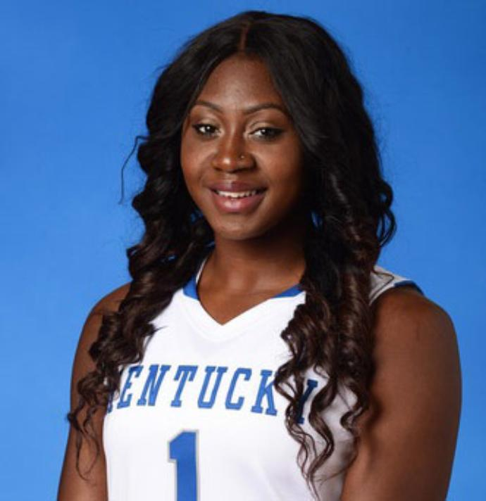Batouly Camara, a freshman from the University of Kentucky, will be joining the UConn women's basketball team in the fall. (Courtesy/ UK Athletics )