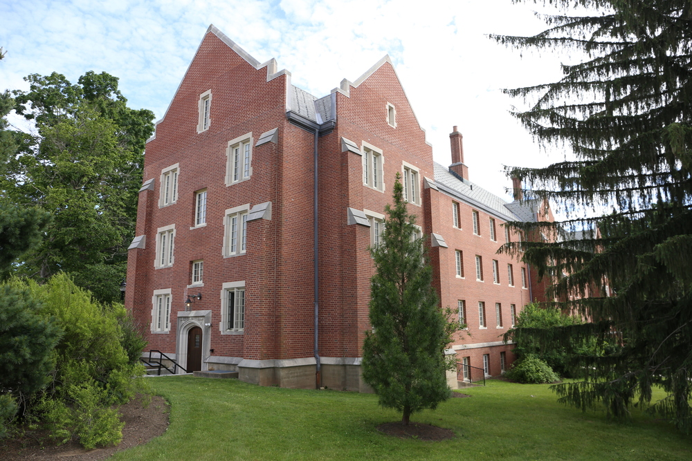 The report, which collected assaults reported to both the UConn Police Department and the Office of Diversity and Equity, housed in the building seen above, listed UConn, tied with Brown University, as having the most sexual assaults of any college campuses in 2014. (Jackson Haigis/Daily Campus)