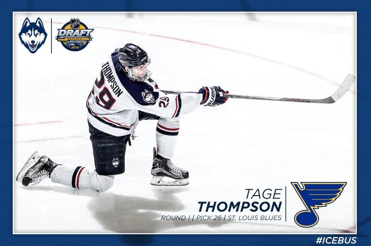 Men s Hockey  Thompson Makes History a3697187c