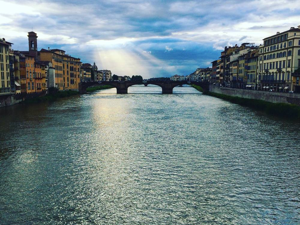 The Ponte Vecchio, a famous bridge in Florence, Italy, where UConn has a study abroad program utilized by many students. (Sten Spinella/Daily Campus)