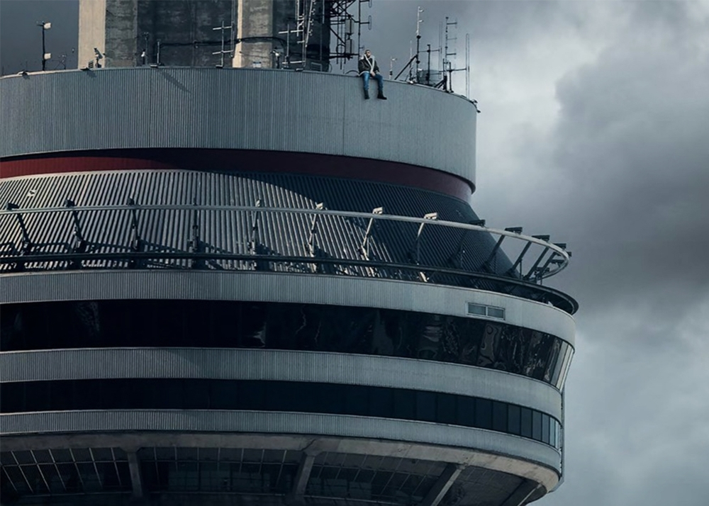 "The album cover for Drake's ""Views."""