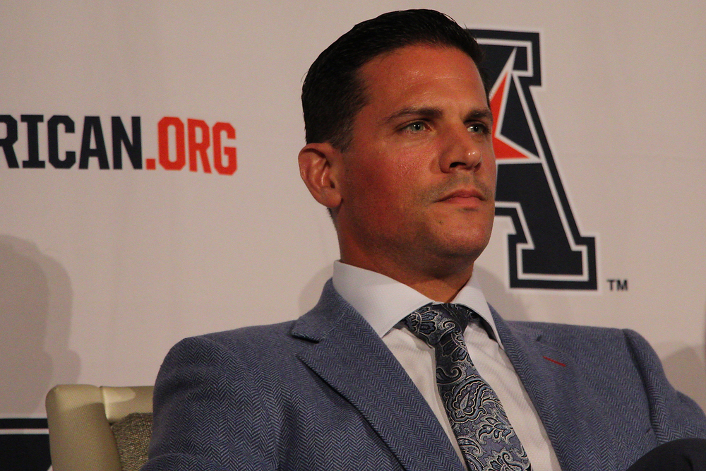 UConn football head coach Bob Diaco. (Photo courtesy of Ian Bethune/The UConn Blog)