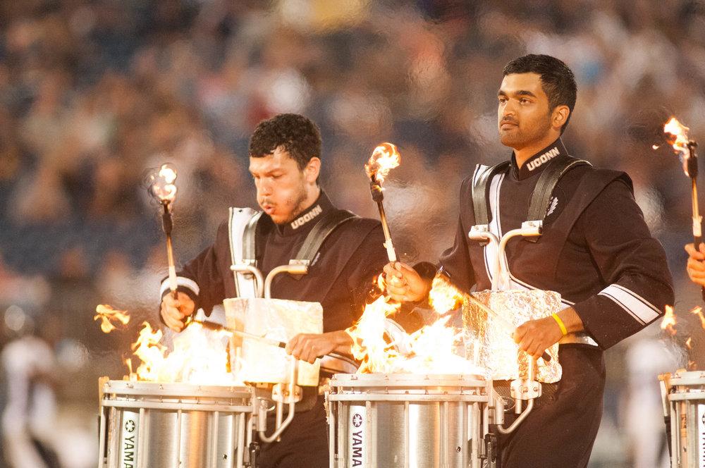 Drumline is lit