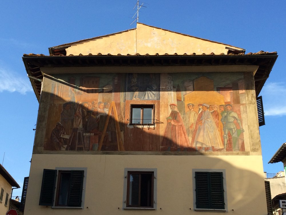 Murals are ever popular in Italian culture. (Sten Spinella/The Daily Campus)