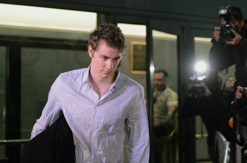 Brock Turner leaves the Santa Clara County Main Jail in San Jose, Calif., on Friday, Sept. 2, 2016. (Dan Honda/AP)