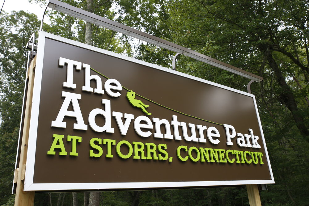 The Adventure Park at Storrs is offering free transportation for students beginning Friday. (Tyler Benton/The Daily Campus)