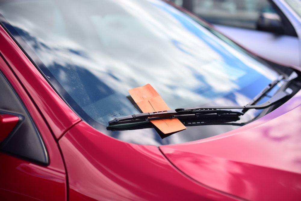 On campus parking violation fees can vary from $25 to $150, depending on the violation. The most common parking violation is parking without a permit, according to Parking Services (Zhelun Lang/The Daily Campus)