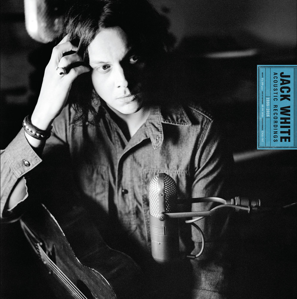 "This cover image released by Third Man Records/Columbia Records shows, ""Jack White Acoustic Recordings 1998 - 2016,"" the latest release by Jack White. (Third Man Records, Columbia Records/AP)"