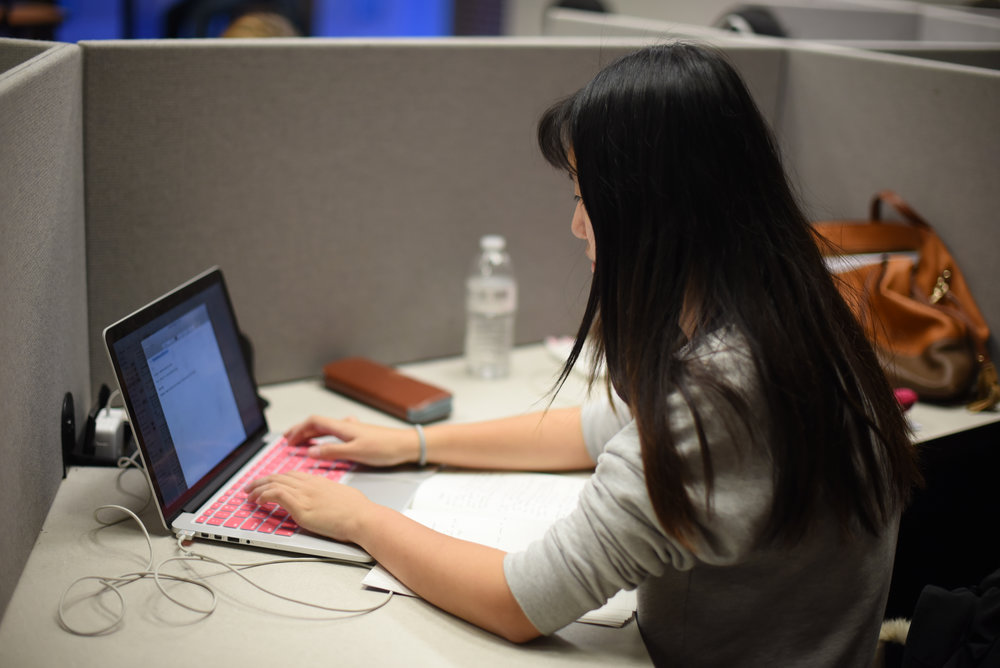 There have been multiple outages this semester when both of the Wi-Fi connections, UCONN-SECURE and UCONN-GUEST, are not functioning. These problems affect both the daily life and education of students on campus. (Zhelun Lang/The Daily Campus)