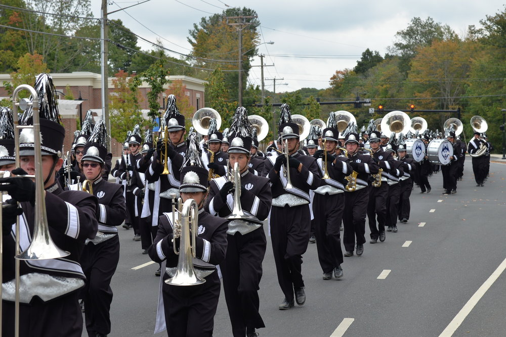 The UConn Marching Band performed in the parade at the Celebrate Mansfield festival, which lasted from noon to 4 p.m. on Sunday, Sept. 18 in Storrs center. (Amar Batra/The Daily Campus)