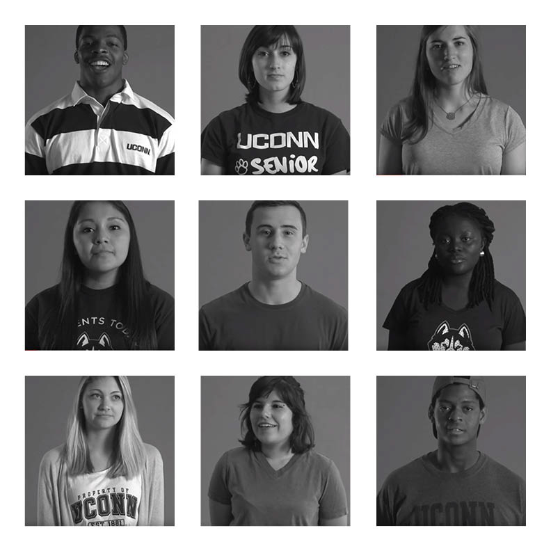"#WeAreU is a campaign to address ""civility and respect"" on campus in an attempt to increase inclusion for all ethnicities and groups on campus. (Graphic by The Daily Campus via WeAreU campaign)"