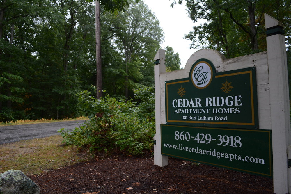 Cedar Ridge Apartments located in Willington, CT has had reports of discolored water. (Mustafa Mussa/The Daily Campus)