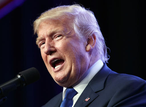 Donald Trump. (Evan Vucci/AP)