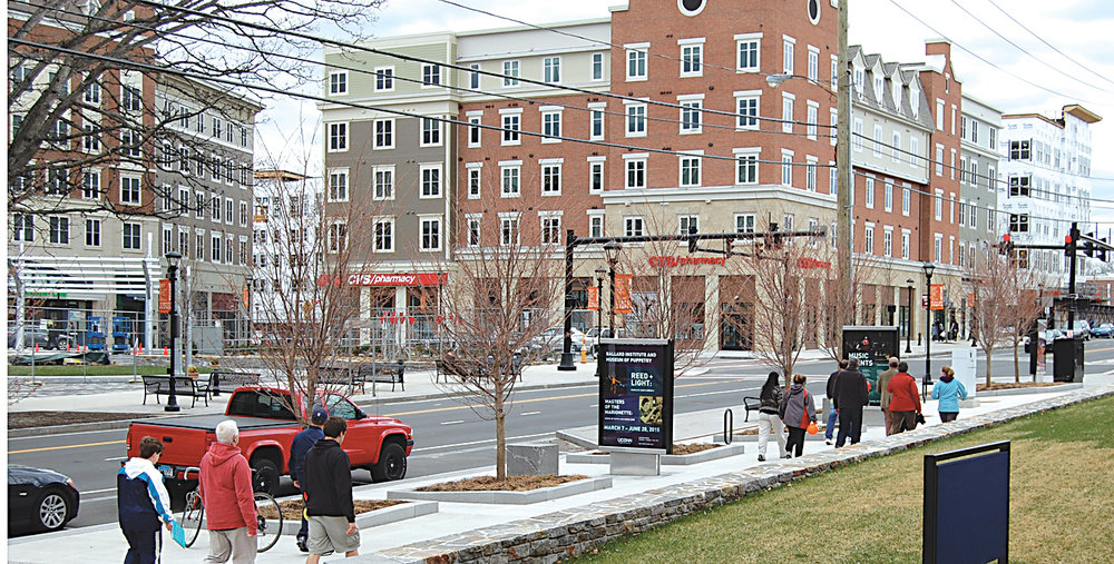The sustainability project would cover Edwin O. Smith High School, located in Storrs Center. (Ashley Maher/The Daily Campus)