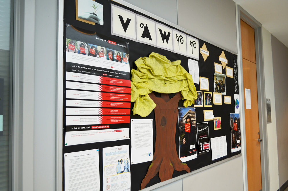 The Violence Against Women Prevention Program (VAWPP) is dedicated to addressing and preventing all forms of sexual violence through education, outreach, and advocacy, according to its website. (Akshara Thejaswi/The Daily Campus)