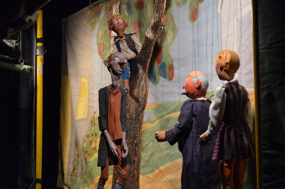 "The Stevens Puppets of Indiana presented Washingtonn Irving's ""The Legend of Sleepy Hollow"" at the Ballard Institute on Sunday, October 2, 2016. (Akshara Thejaswi/The Daily Campus)"