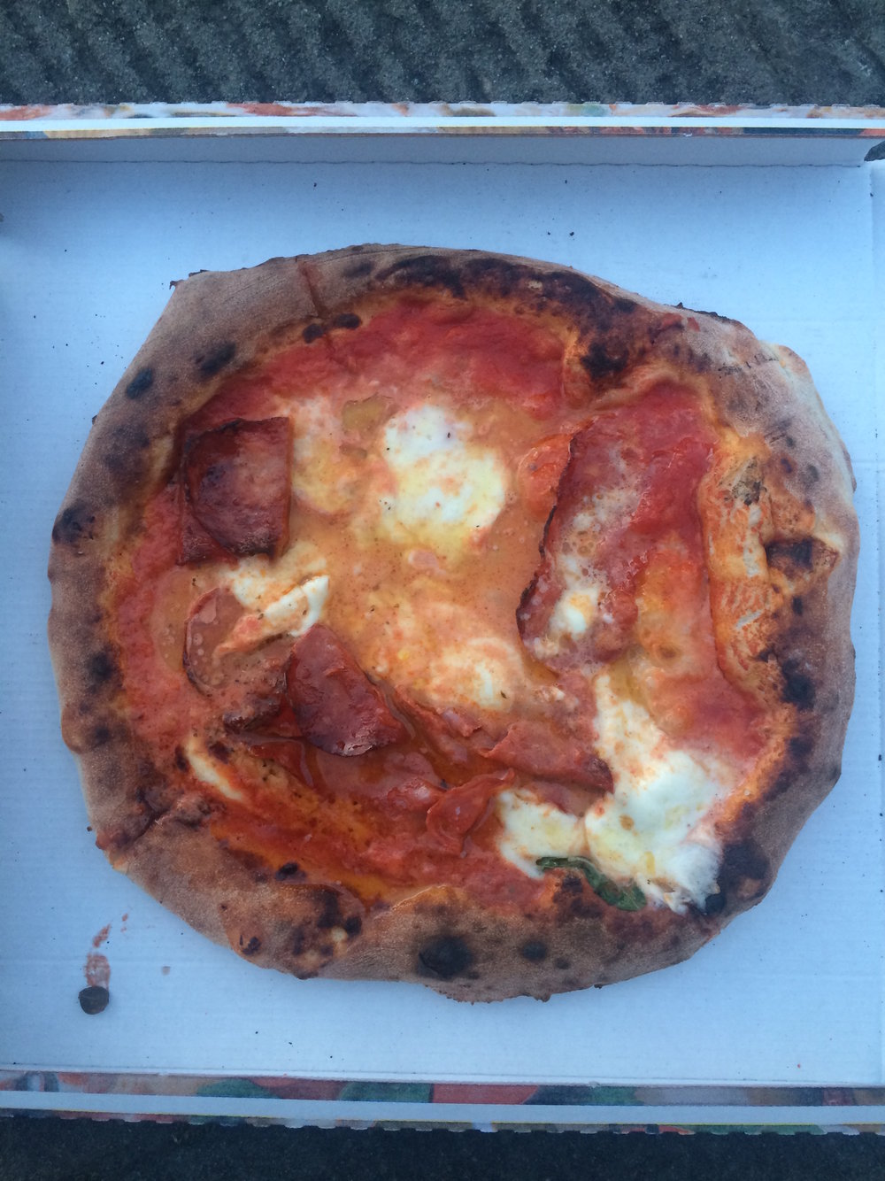Pizza in Florence (Sten Spinella/The Daily Campus)