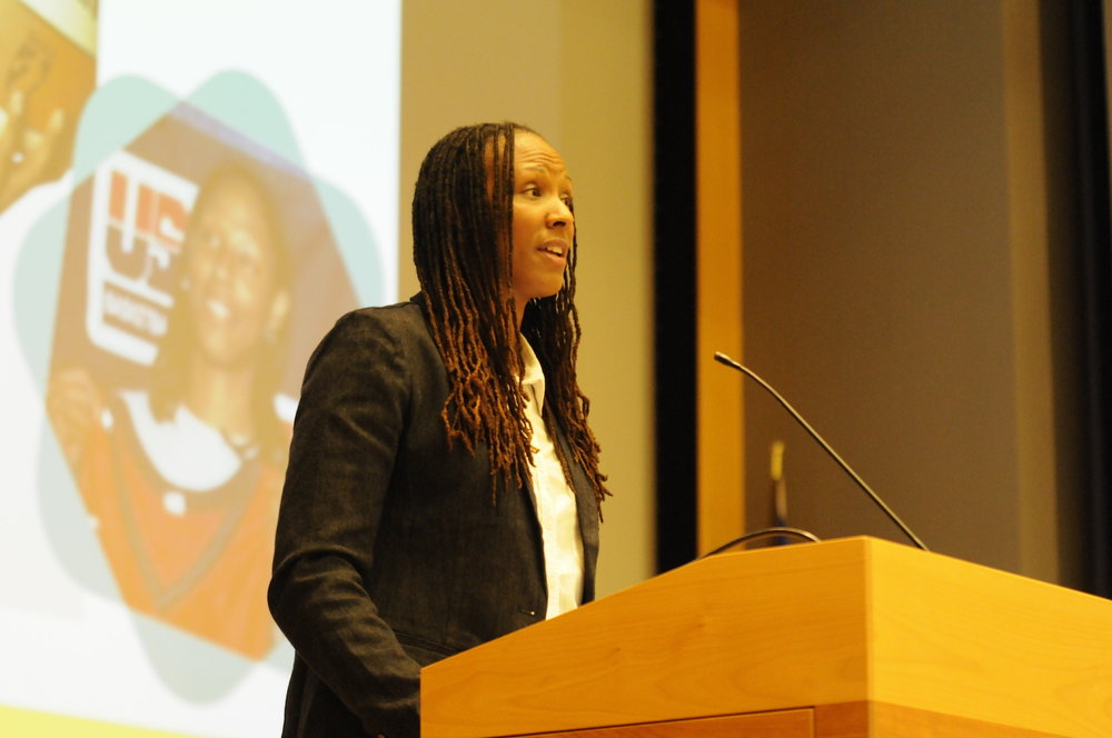 Chamique Holdsclaw, keynote speaker | Sept. 28