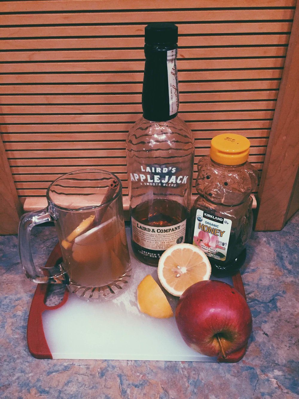 Apple-brandy hot toddies are the perfect fall drink for all occasions, from a late night watching spooky movies to an early morning football tailgate. (Megan Krementowski/The Daily Campus)