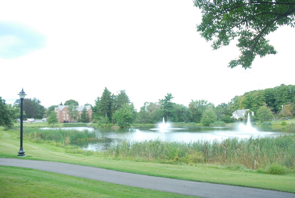 Mirror Lake, one of the two main lakes on the UConn campus, photographed on Sept. 5, 2013. (File Photo/The Daily Campus)