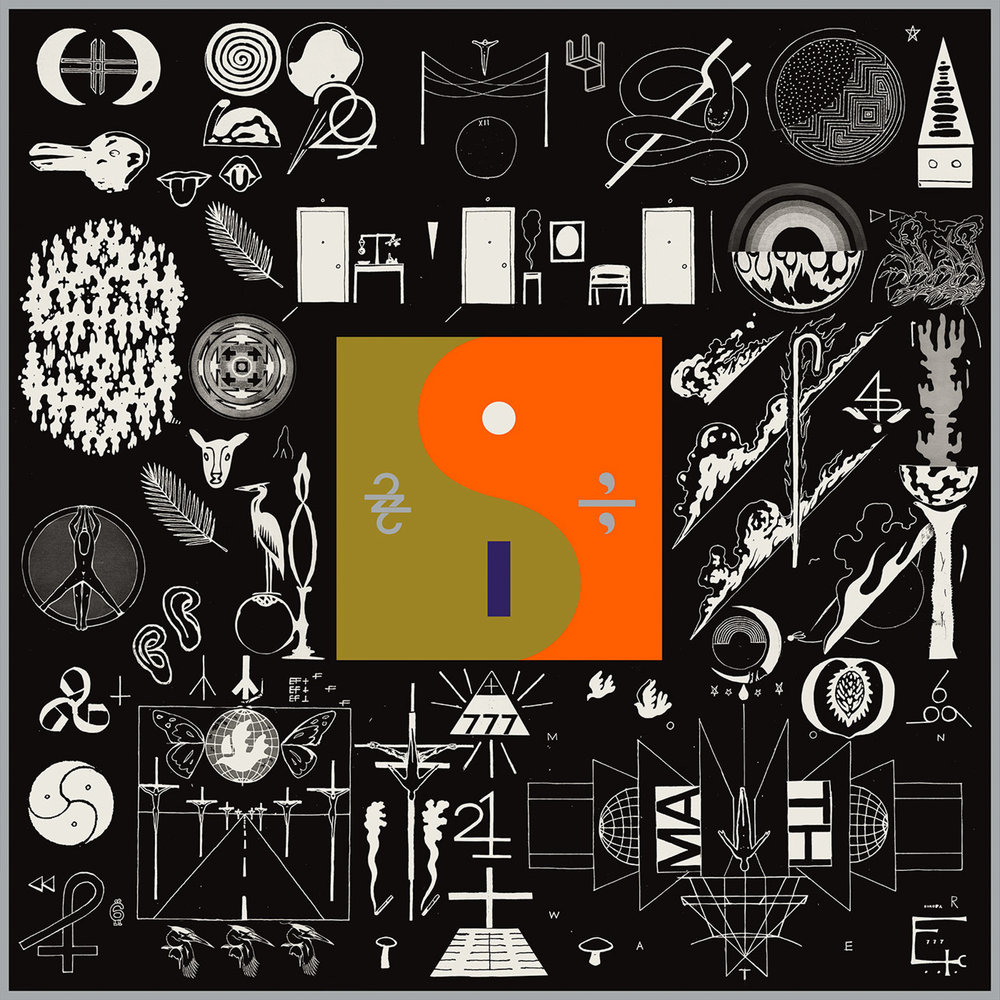 "This cover image released by Jagjaguwar Records shows, ""22, A Million,"" a release by  Bon   Iver . (Jagjaguwar/AP)"