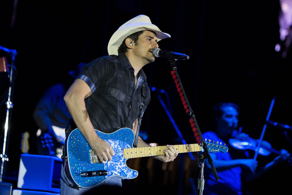 Brad Paisley performs at UConn