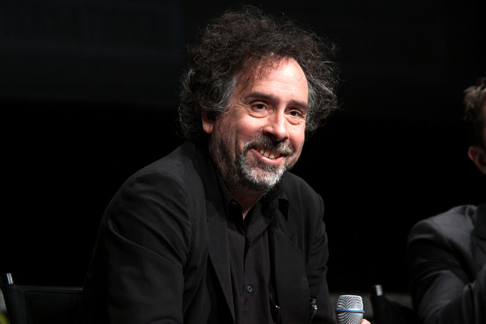 "Film director Tim Burton sparked a media and racial firestorm after his interview on his upcoming film ""Miss Peregrine's Home for Peculiar Children"" for almost always having an all-white cast.  (Gage Skidmore/Flickr Creative Commons)"