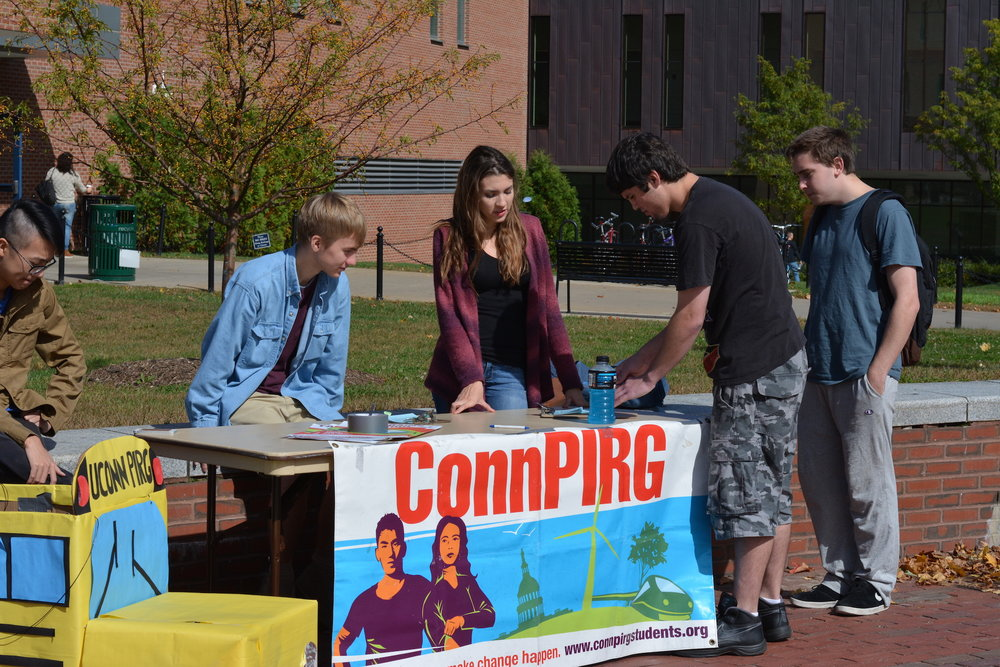 UConn PIRG works to represent the public interest and bring social change. The organization has organized spare change drives and trips to soup kitchens. (File Photo/The Daily Campus)