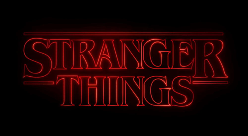 "A screenshot of the opening credits of ""Stranger Things,"" a science fiction-horror series on Netflix by the Duffer Brothers. (Courtesy/Wikimedia Creative Commons)"