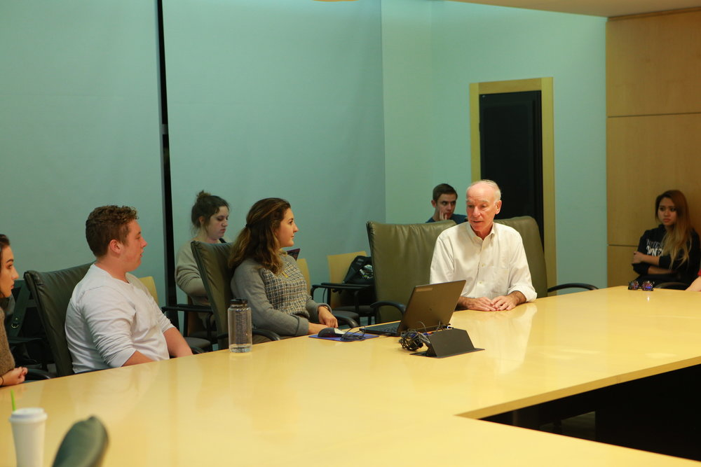On Monday, Oct. 17, UConn Democrats hosted Congressman Joe Courtney in the Student Union. (Junbo Huang/The Daily Campus)