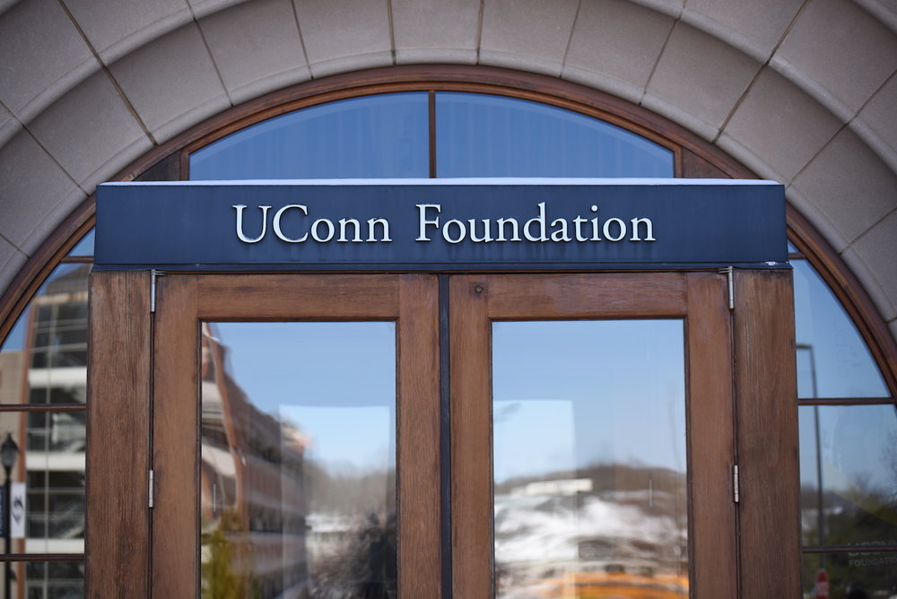 The UConn Foundation is located across from the North Garage and the Jorgensen Center for Performing Art. It provides a large amount of funding and support to student organizations every year. (Zhelun Lang, The Daily Campus)