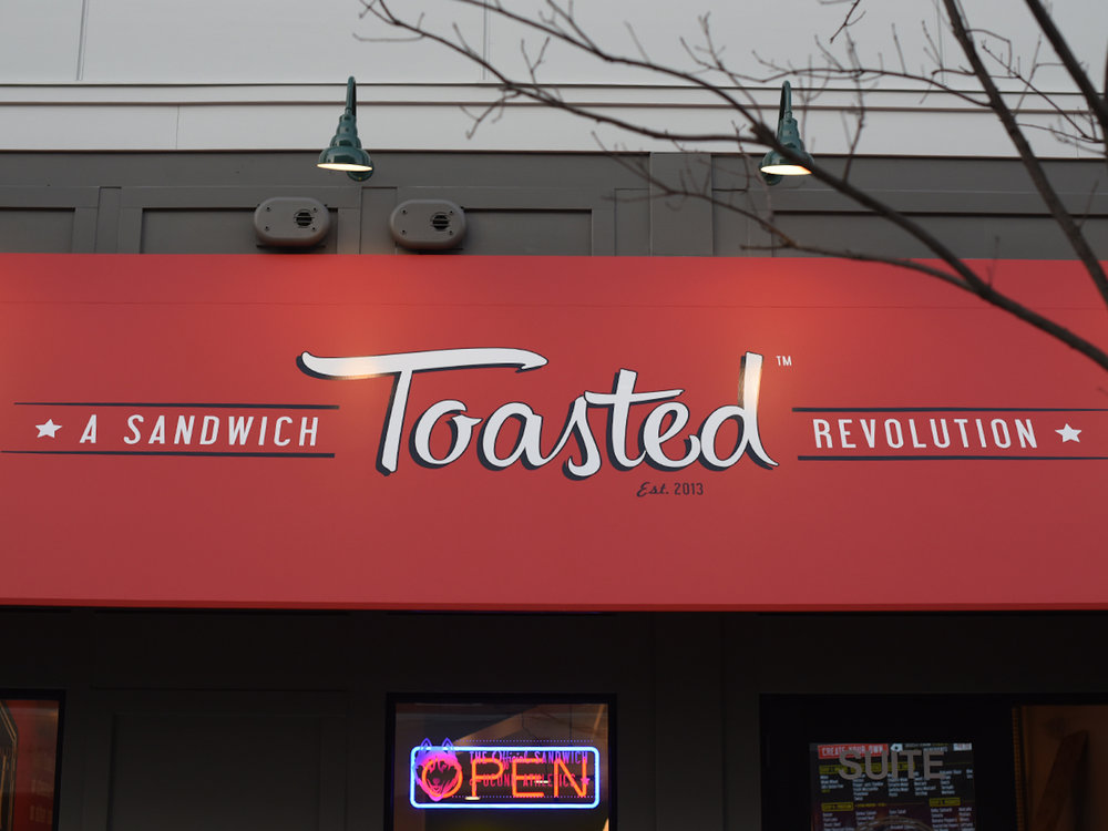 The Toasted goal is to start a sandwich revolution, with bakery fresh bread delivered every morning and high quality meats sliced daily, all topped off with one of eight original and flavorful sauces. (Zhelun Lang/The Daily Campus)