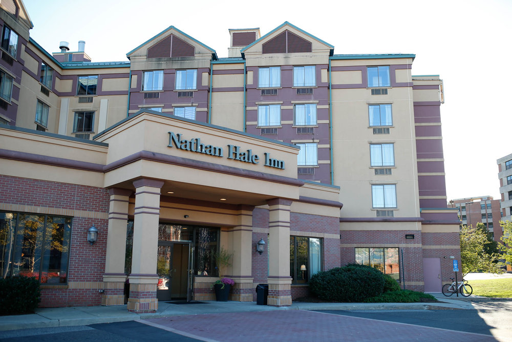 According to university officials, UConn plans to completely convert the Nathan Hale in student housing. As of now the hotel provides 280 students with housing, taking up 50 of the available 98 rooms. (Tyler Benton/The Daily Campus)