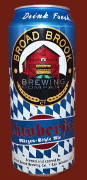 The Oktoberfest ale is made by the Broad Brook Brewing Company. (Screenshot/Broad Brook Brewing Company)