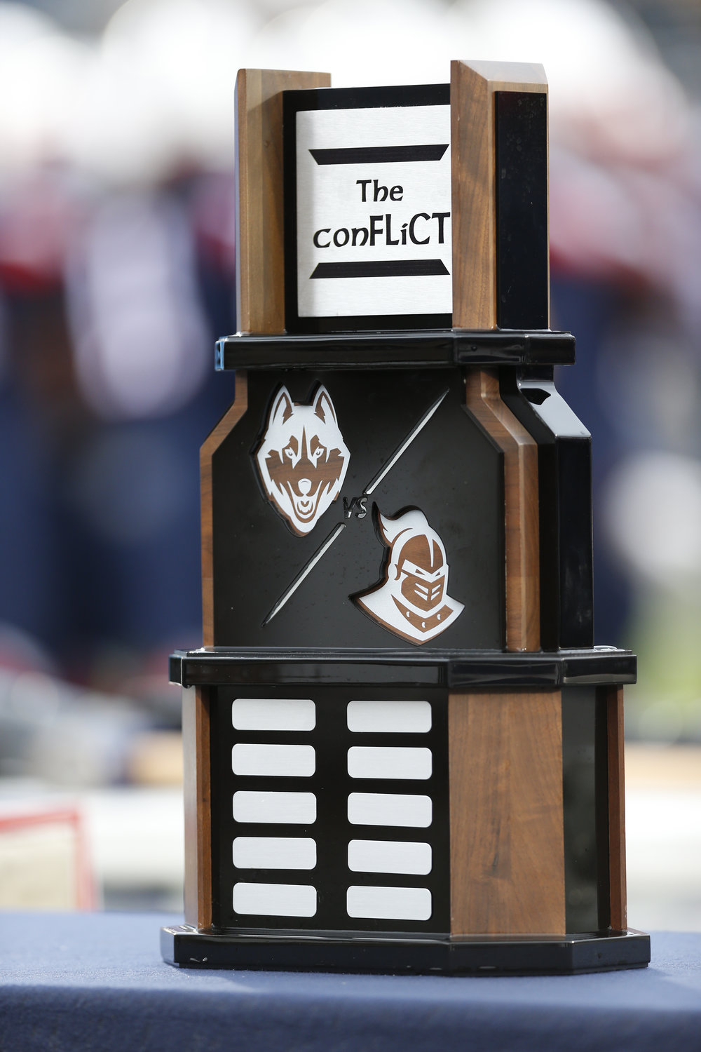 The Civil Conflict trophy. (Tyler Benton/The Daily Campus)