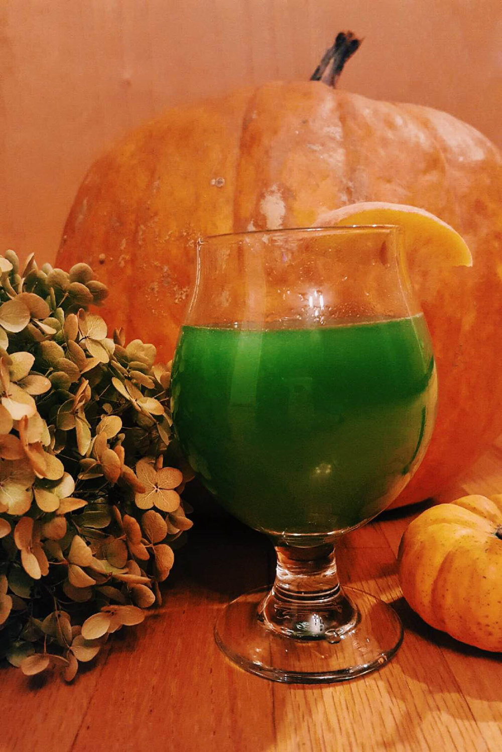 This week's cocktail will help you celebrate Halloween in style. (Megan Krementowski/The Daily Campus)