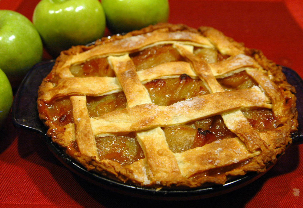 Warm apples is a perfect replacement for warm apple pie, especially if you don't have an oven or a lot of space to work in. (Dan Parsons/Flickr, Creative Commons)