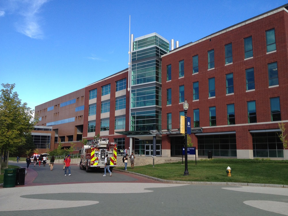 An electrical malfunction in a piece of research equipment at the Information Technology Engineering building led to a fire alarm and then evacuation. UConn spokeswoman Stephanie Reitz said there was no actual fire. (The Daily Campus)