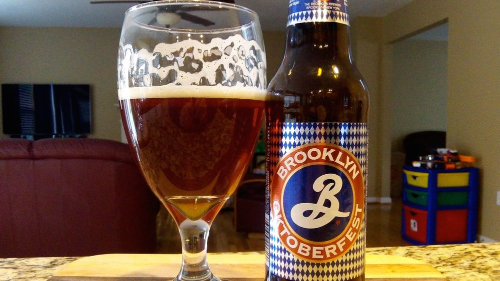 Brooklyn Brewery's Oktoberfest forms the perfect blend of sweetness and spice in a craft ale, demonstrating a rust color fitting for its fall flavors. (DJs BrewTube/Creative Commons)