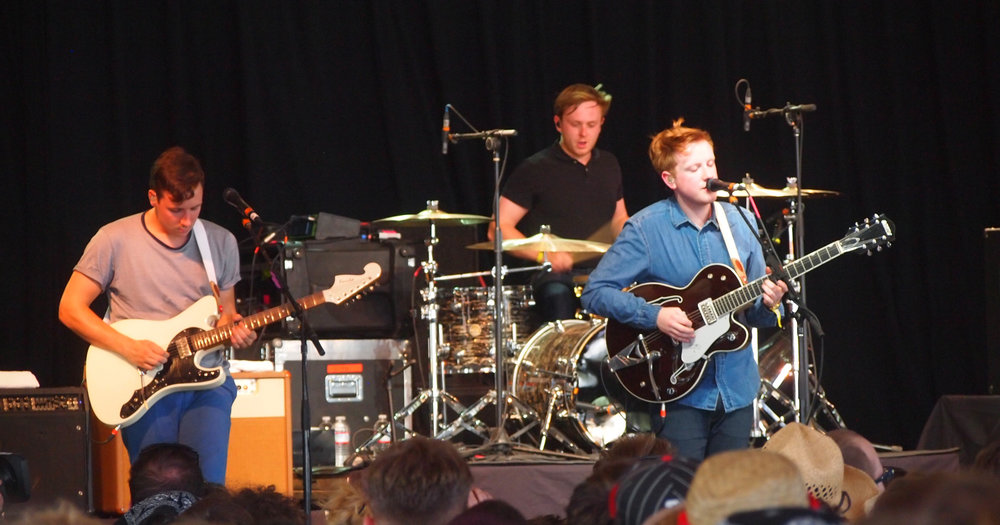 "Two Door Cinema Club performs at Bonnaroo in 2012. The band recently released their latest album ""Gameshow"" on Oct. 14, 2016. (Jon Elbaz/Wikimedia, Creative Commons)"
