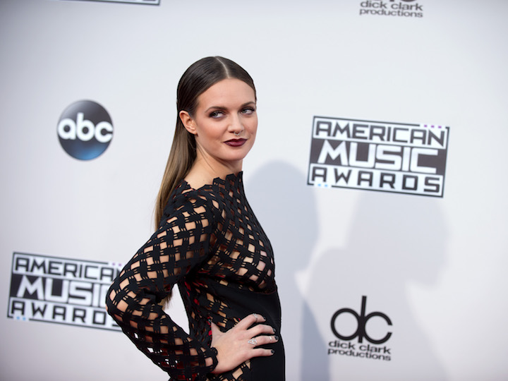 Tove Lo poses for a picture at the 2015 American Music Awards. She released her new album on Oct. 28. (Disney/ Flickr, Creative Commons )