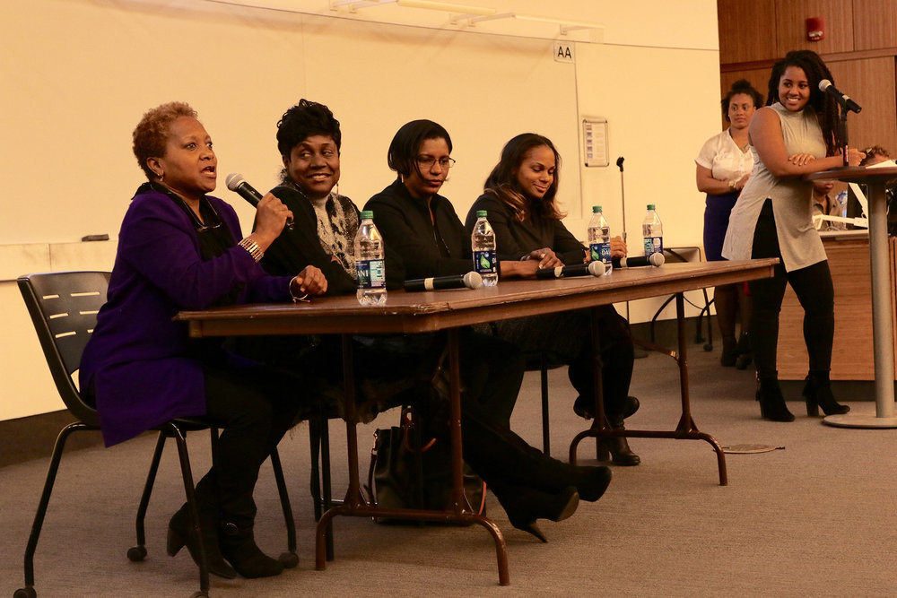 UConn held it's second annual Black Women's Empowerment Panel at Oak Hall on Saturday, Nov. 12.  (Ruohan Li/The Daily Campus)